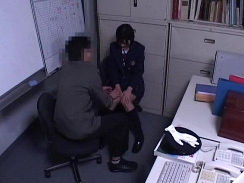 Schoolgirl caught Fare dodging Part 1