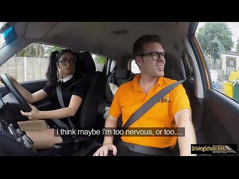 Julia De Lucia gets banged in the car