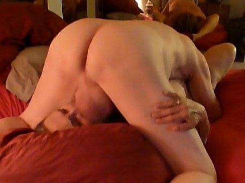 Large male anus