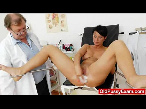Brunettes madam vagina test