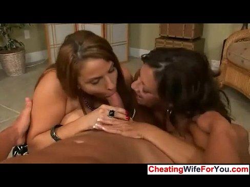 Wives sucking big cocks criticising