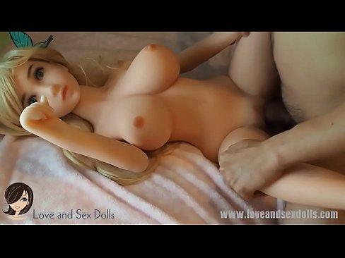 SEX DOLL COMPILATION: 3 different dolls. 2 blonds, 1 brunette. TPE, silicone, bl