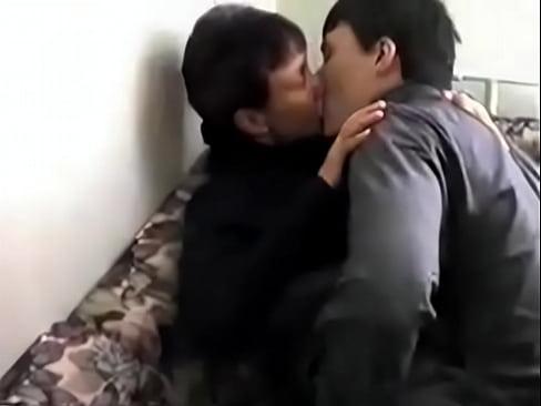 Русская мама, секс с сыном