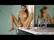 alone sexy horny girl masturbating tender.