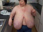 Huge Tits Big Boobs German BBW - Karola from SiliconeFree.com - Riesentitten Thumbnail
