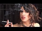 tangent - smoking fetish at dragginladies