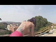 bigtit spanish amateur fucks in public