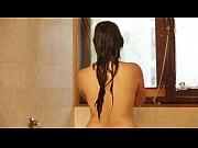 hot girl bathing in the bathroom-hot.