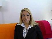 Blonde slut with natural big tits fucked hard