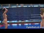 wrestling lesbian fingerfucking pretty babe