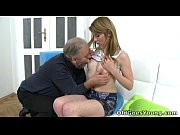 After a lengthy doggie style fucking Sveta gets her old lover'_s cum all over her
