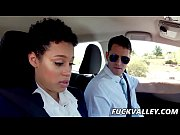 Amethyst Banks In Chocolate Skin Cutie Rides Her Driving Instructor