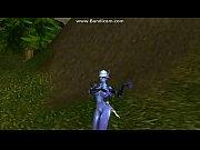 Void Elf dancing in celebration of getting an emerald whelpling