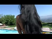 StripTease in swimming pool Bikini riot