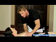 Busty massage milf plowed by her masseur