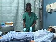 Asian guy fucks Black girl in hospital ( Japanese AMBW )