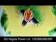 power levels (dragonball z all sagas)