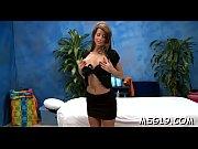 Sexy girl massage