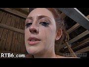 handcuffed darling gets excruciating caning on her skinny body