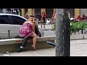 Casal &eacute_ flagrado transando (Gomes Freire) / Couple having sex in downtown Rio.