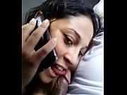 chupando falando com marido no telefone