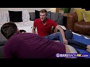 Gay dudes pleasing a quadruple dick combo