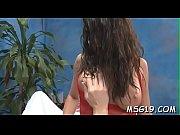 Tattooed masseuse gets wild Thumbnail