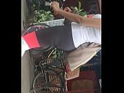 Big ass gym babe on street
