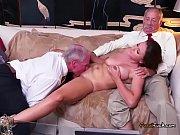 Busty Teen Ivy Rose Sucks Big Cock Of Old Guy