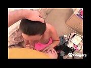 brunette milf yazmine giving head in home video tape