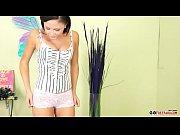 A young girl having fun with a vibrator porn_