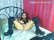 Sexy brunette masturbating on live cam - tightandhorny.com