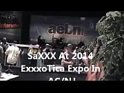 saxxx aka saxxxjust4u 2014 exxxotica expo.