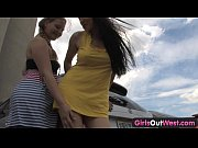 girls out west - busty lesbians at the.