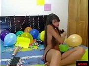 latina festejando su cumplea&ntilde_os con anal.