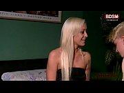 Deutsches BDSM teen bestraft J&uuml_ngling mit anal fisting und strapon