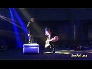 incredible lapdance on public sex fair venus stage