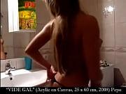 Total Art Slut Monica Van der Weyden Strips on Webcam