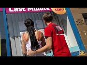 HUNT4K. Lovely girl cheats on boyfriend to earn money for vacation