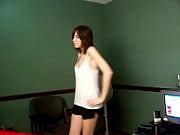 girlfriend strips on camera