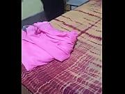 anty change saree