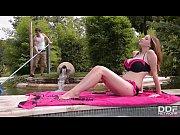 thumb Busty Pool Godd ess Lucie Wild Fucks Hard By T Fucks Hard By The Pool