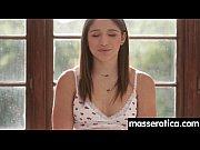Sensual lesbian massage leads to orgasm 24