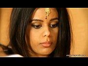Brunette Indian Babe Undresses