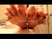 foot fetish - kristy feet video.