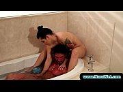 sexy babes giving wet nuru massage.