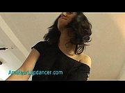 Hot lapdance by busty czech brunette