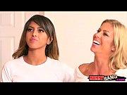 Alexis Fawx and Sophia Leone shared cock