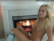 Hot blonde teen gives awesome show on webcam - HornyTeenCam.com