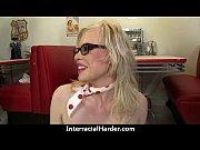 Real Latina MILF interracial sex tape 18